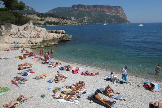 Cassis is a great seaside village on the Med, three hours by train from Paris.