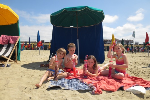 A quick trip out of Paris to the beach's of Doeville for some sun and sand.